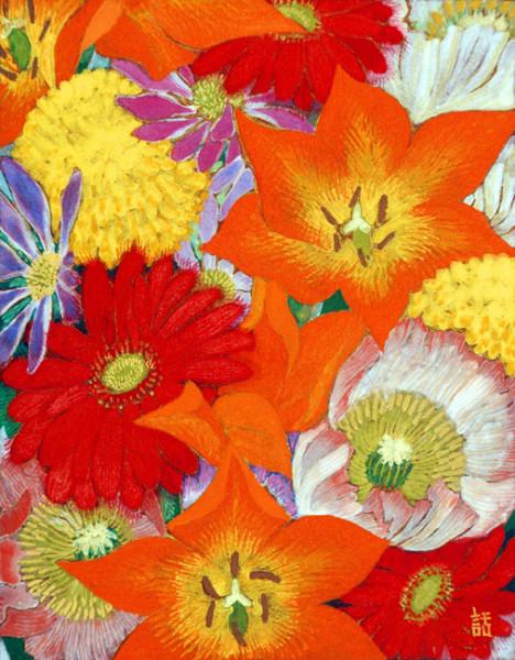 花束I F0 2002年